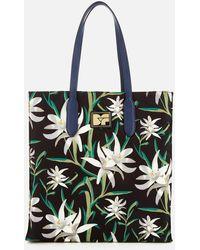 Diane von Furstenberg - Women's Floral Nylon Tote Bag - Lyst