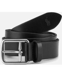 Polo Ralph Lauren - Saddle Leather Belt - Lyst