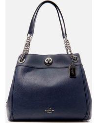COACH - Turnlock Edie Shoulder Bag - Lyst