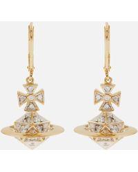 Vivienne Westwood - Bessie Orb Drop Earrings - Lyst