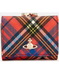 Vivienne Westwood - Derby Small Frame Wallet - Lyst