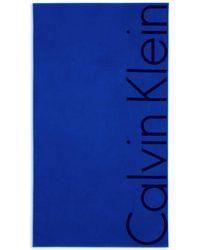 CALVIN KLEIN 205W39NYC - Bold Beach Towel - Lyst
