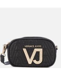 Versace Jeans - Diamonte Vj Cross Body Bag - Lyst