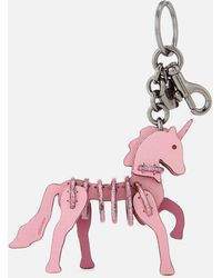 COACH - Small Unicorn Puzzle Bag Charm - Lyst