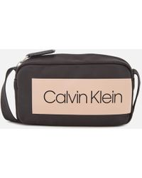 Calvin Klein - Block Out Small Cross Body Bag - Lyst