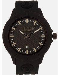 Versus - Tokyo Silicone Lion Head Strap Watch - Lyst
