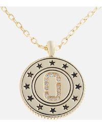 Marc Jacobs - Medallion Double Sided Pendant - Lyst