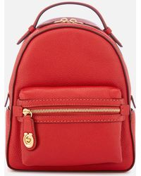 COACH - New Leather Campus Backpack 23 - Lyst