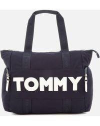 Tommy Hilfiger - Tommy Nylon Tote Bag - Lyst