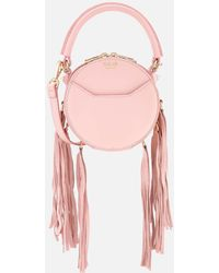 Salar - Lea Fringe Cross Body Bag - Lyst