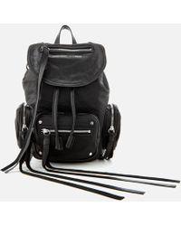 McQ - Mini Convertible Drawstring Backpack - Lyst
