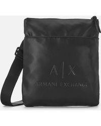 Armani Exchange - Pu Cross Body Bag - Lyst