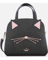 d710fcd1256 Longchamp Le Pliage Miaou Cat Large Shoulder Tote Bag in Blue - Lyst