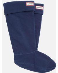 HUNTER - Boot Socks - Lyst