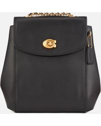COACH - Refined Calf Leather Parker Backpack - Lyst