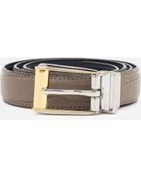 Lauren by Ralph Lauren - 3/4 Reversible Skinny Belt - Lyst