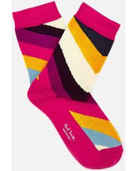Paul Smith - Odd Swirl Socks - Lyst
