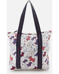 Radley - Speckle Dog Large Ziptop Tote Bag - Lyst