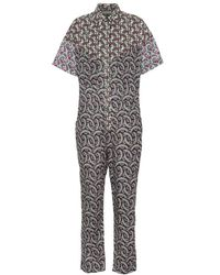 Étoile Isabel Marant - Jumpsuit Lindsie a stampa in cotone - Lyst