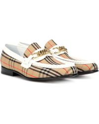 Burberry - 1983 Check Link Loafers - Lyst