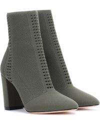 Gianvito Rossi - Exclusive To Mytheresa. Com – Thurlow Knitted Ankle Boots - Lyst