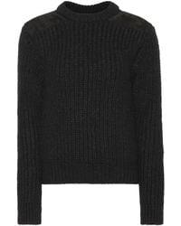 Saint Laurent - Stretch Wool-blend Sweater - Lyst