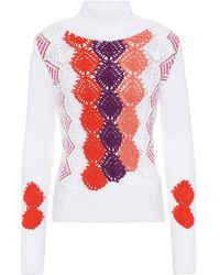 Peter Pilotto - Pullover in cotone - Lyst