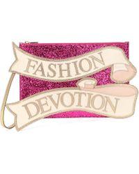 Dolce & Gabbana - Clutch de piel Medium Cleo - Lyst