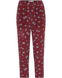 Marni - Pantalones de seda Daisy - Lyst