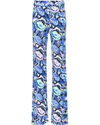Emilio Pucci - Printed Flared Pants - Lyst