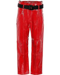 Petar Petrov - Hollis Patent Leather Pants - Lyst