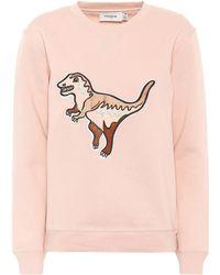 COACH - Rexy Cotton-blend Sweatshirt - Lyst