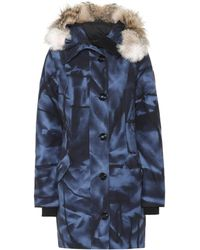 Canada Goose - Rossclair Fur-trimmed Down Parka - Lyst