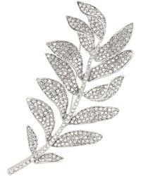 Oscar de la Renta - Crystal-embellished Brooch - Lyst