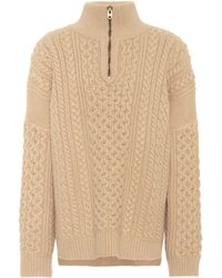 Chloé - Exclusive To Mytheresa. Com – Wool And Cashmere Sweater - Lyst