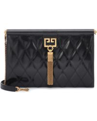 Givenchy - Gem Medium Quilted Leather Clutch - Lyst