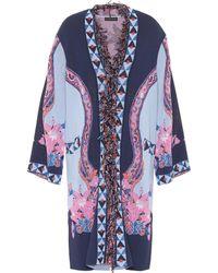 Etro - Paisley Jacquard Knit Jacket - Lyst