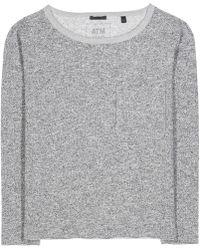 ATM - Jersey Sweater - Lyst