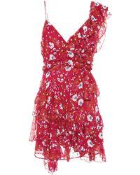 Isabel Marant - Manda Fil Coupé Silk-blend Dress - Lyst