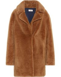 Meteo by Yves Salomon - Lamb Fur Coat - Lyst