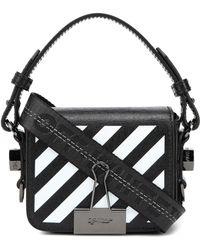 Off-White c/o Virgil Abloh - Binder Clip Baby Leather Shoulder Bag - Lyst