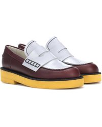 Marni - Leather Loafers - Lyst