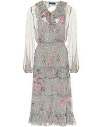 Polo Ralph Lauren - Elton Floral-printed Dress - Lyst