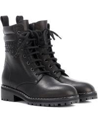 Bottega Veneta - Leather Ankle Boots - Lyst