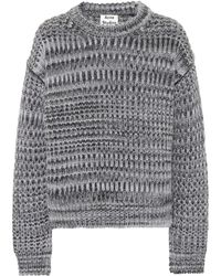 Acne Studios - Mohair And Wool-blend Sweater - Lyst