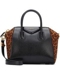Givenchy - Antigona Small Leather Tote - Lyst