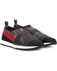 Fendi - Colibrì Printed Slip-on Sneakers - Lyst