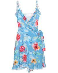 05cc33305d18 Lyst - Athena Procopiou Cosmic Dancer Mini Pom-pom Dress