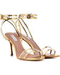 Tabitha Simmons - Lissa Leather Sandals - Lyst