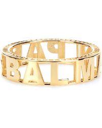Balmain - Logo Bracelet - Lyst